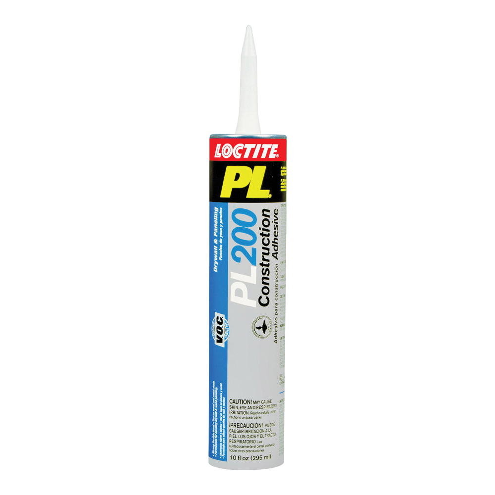 Picture of Loctite 1390603 Project Construction Adhesive, Tan, 10 oz Package, Cartridge
