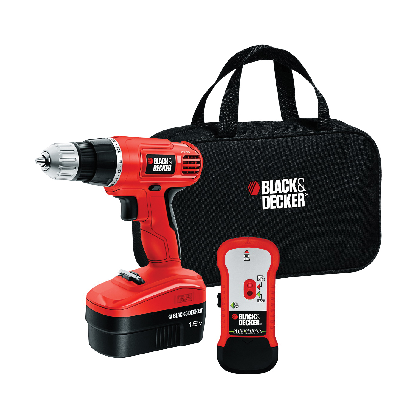 Picture of Black+Decker GCO18SFB Drill Kit, Battery Included: Yes