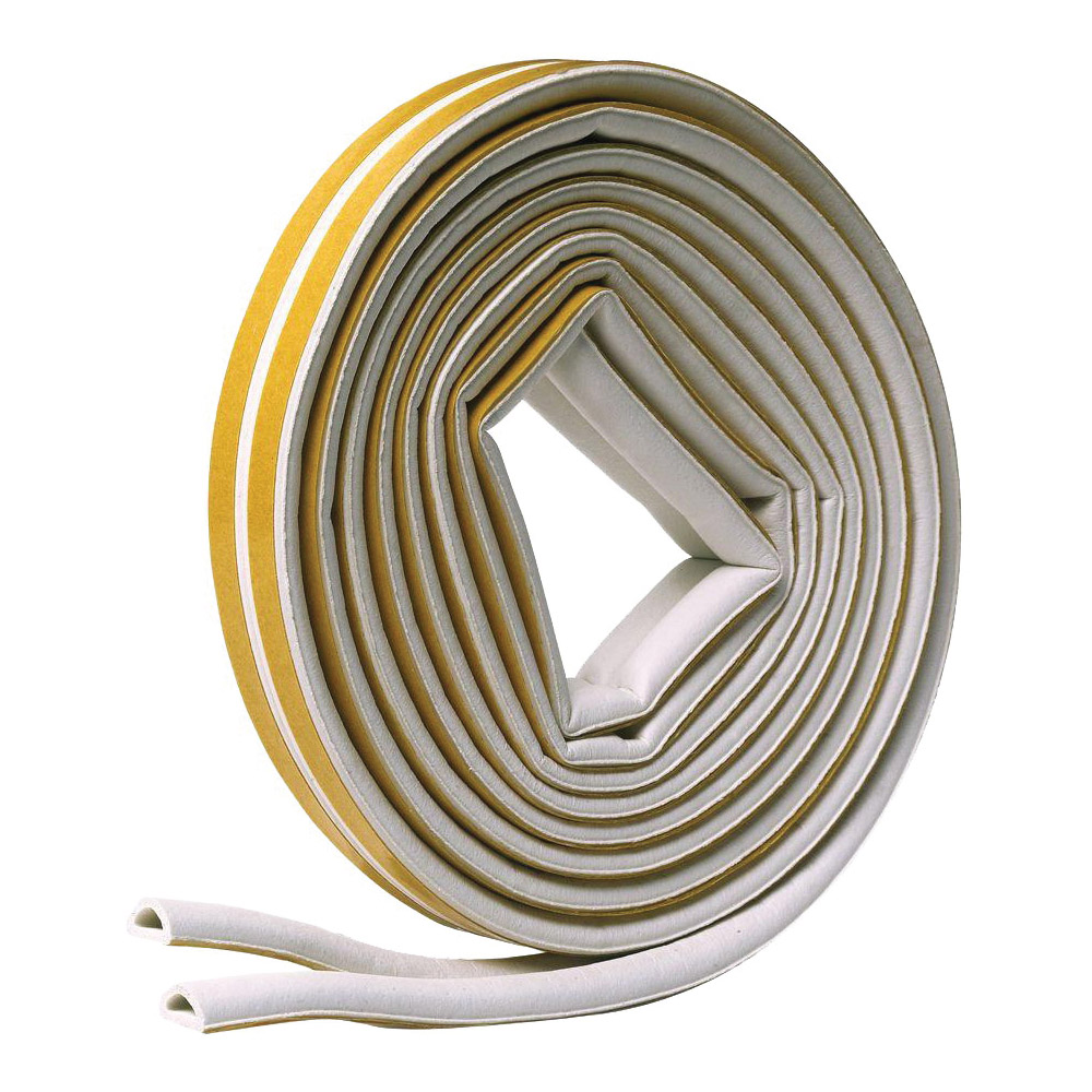 Picture of Frost King V25WA Weatherseal Tape, 5/16 in W, 17 ft L, EPDM Rubber, White