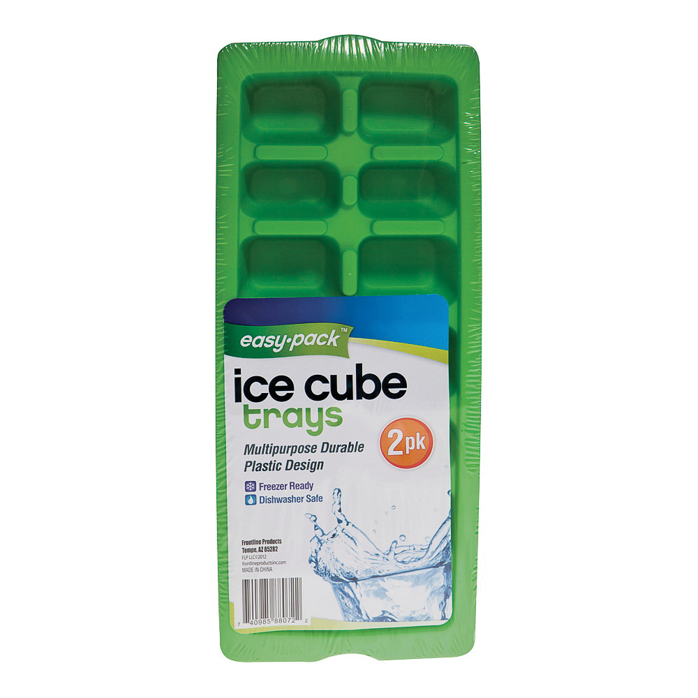 Picture of Easy Pack 8072 Ice Cube Tray, Plastic, Dishwasher Safe: Yes