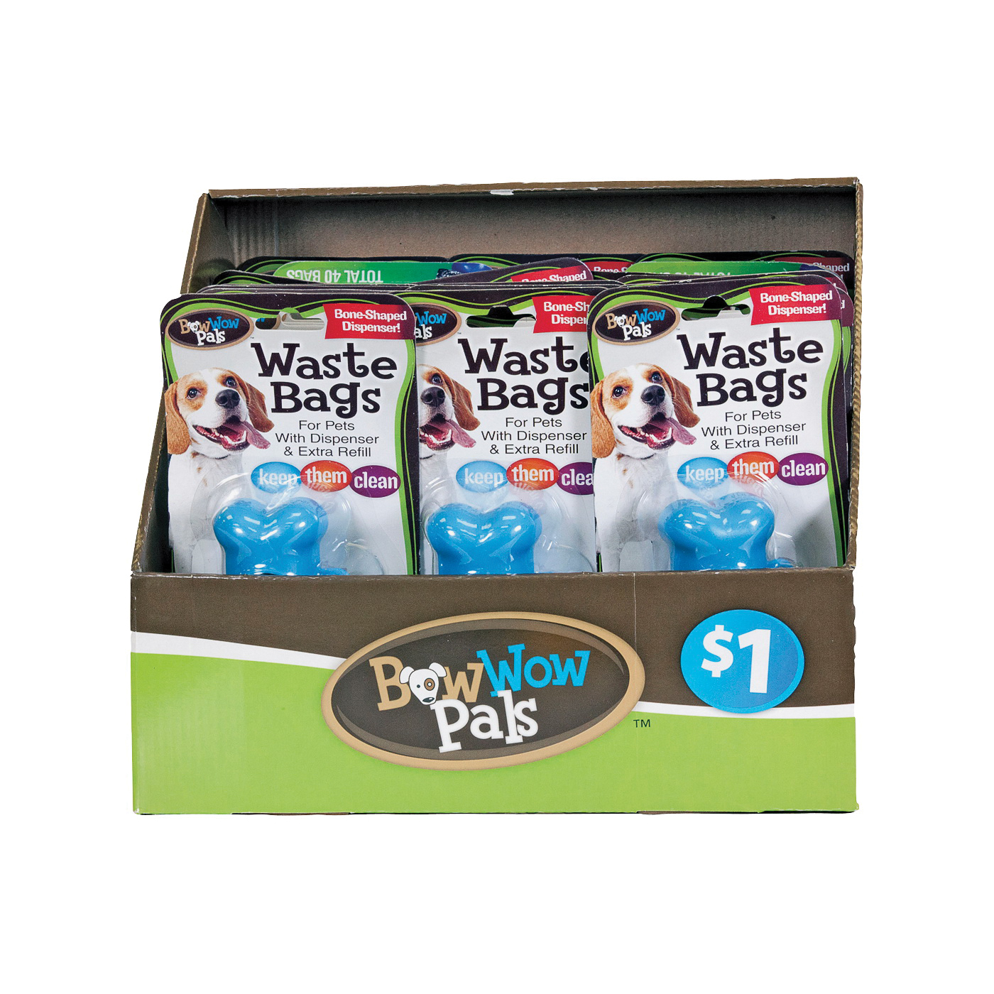 Picture of FLP Bow Wow Pals 8812 Pet Waste Bag Holder