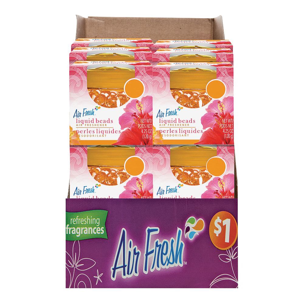 Picture of Air Fresh 9579 Air Freshener, 4.25 oz Package, Tropical Breeze