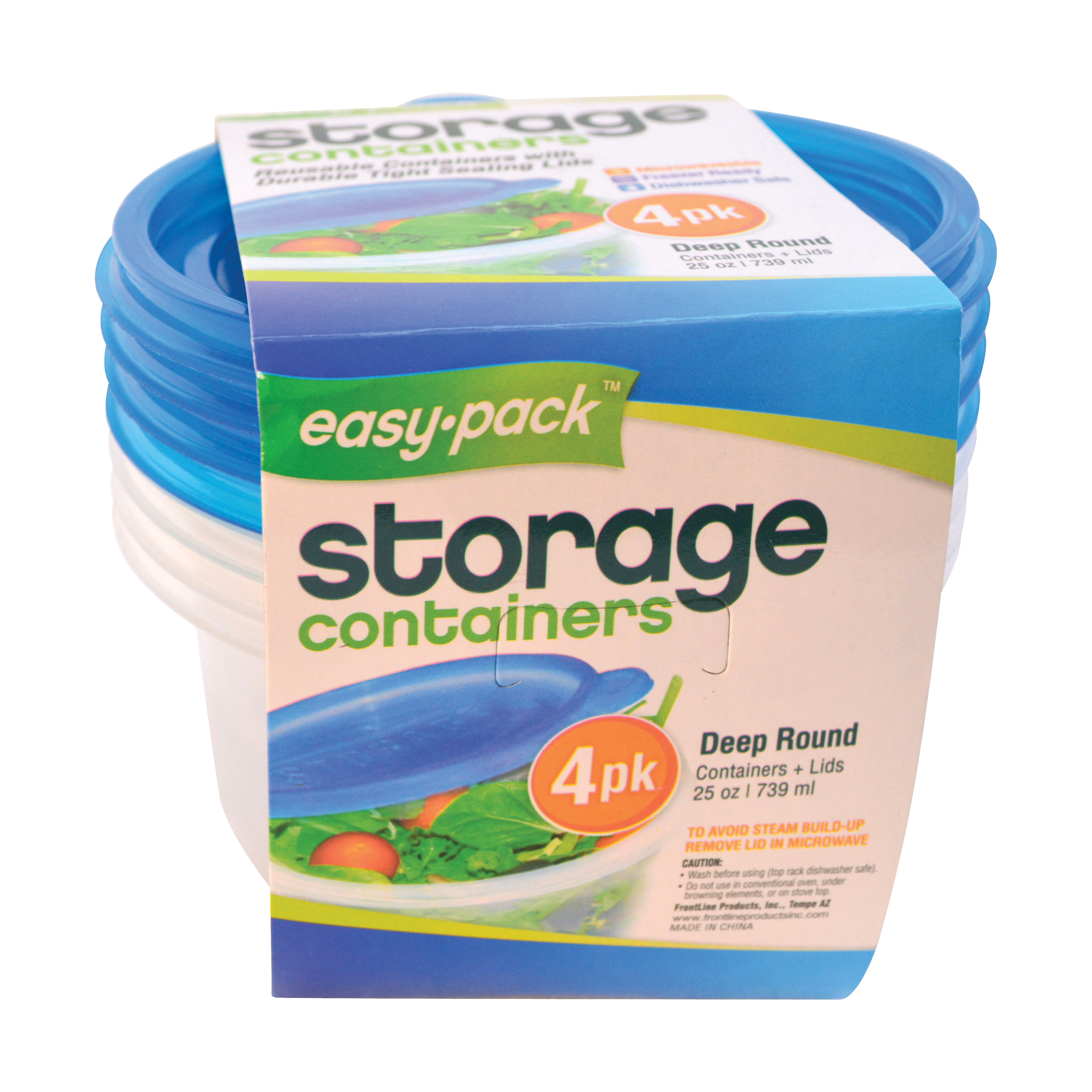 Picture of Easy Pack 8060 Food Container Set, 25 oz Capacity