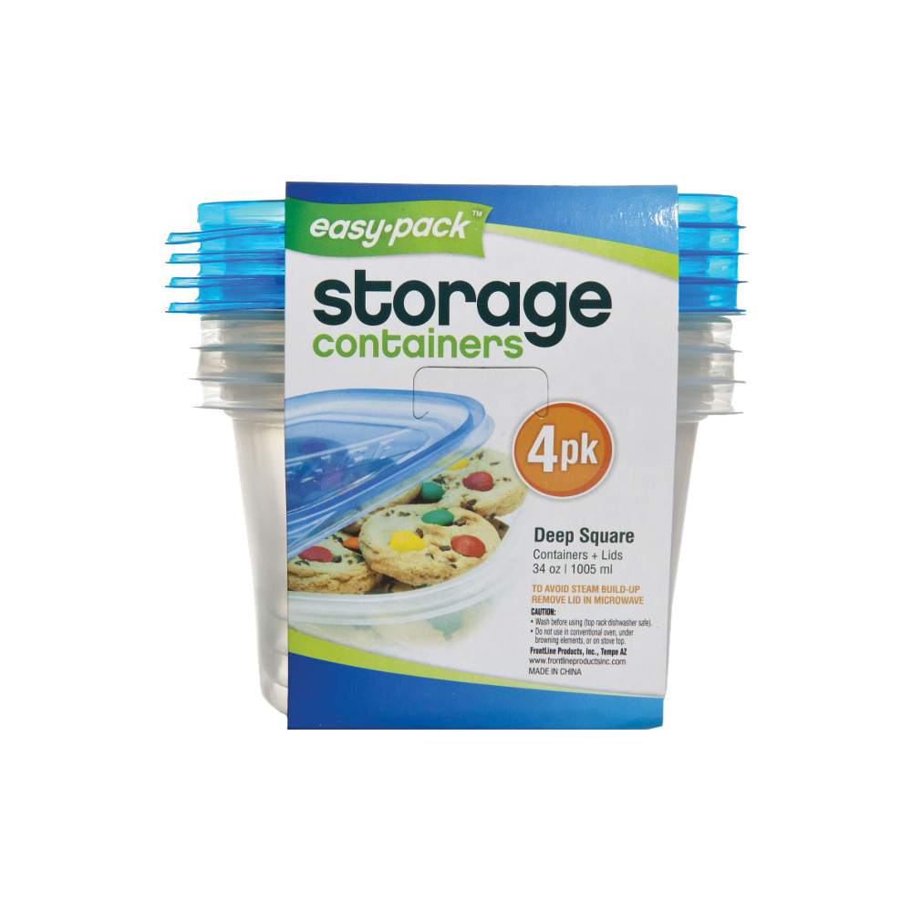Picture of Easy Pack 8066 Storage Container, 34 oz Capacity