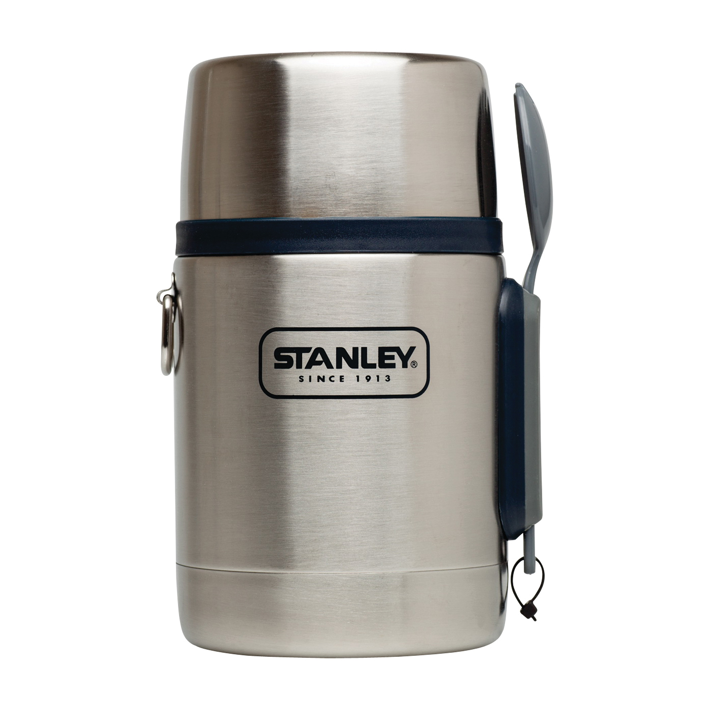 Picture of STANLEY 10-01287-021 Food Jar, 18 oz Capacity, 18/8 Stainless Steel, 4-1/2 in L, 3.7 in W, 6.9 in H
