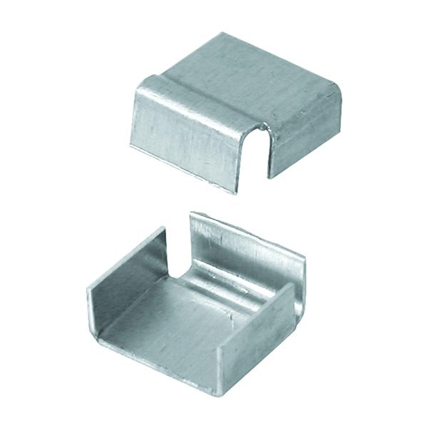 Picture of Prime-Line PL 14310 Spreader Bar Clip, Metal, Mill, 100, Tub