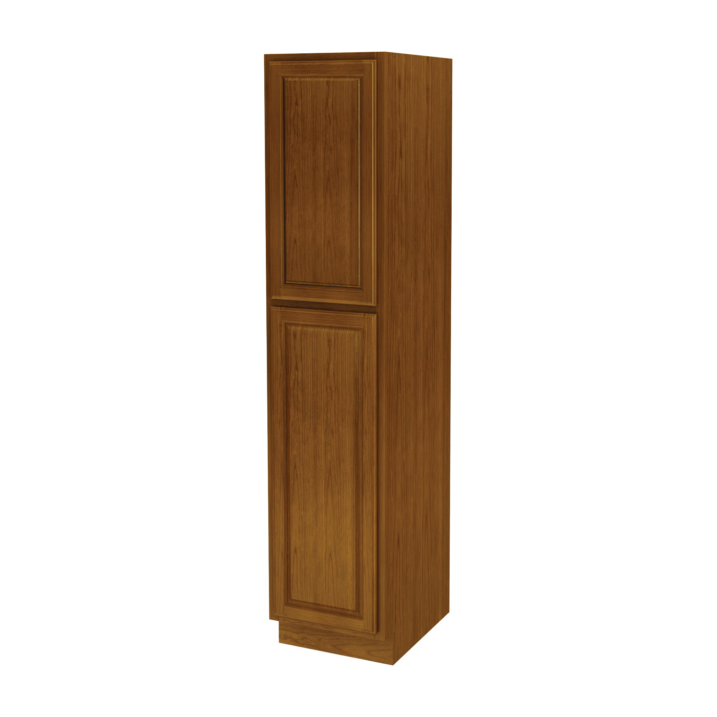 Picture of Sunco Randolph WP1884RT/A Kitchen Cabinet, 18 in OAW, 24 in OAD, 84 in OAH, Wood, Amber, 2-Shelf