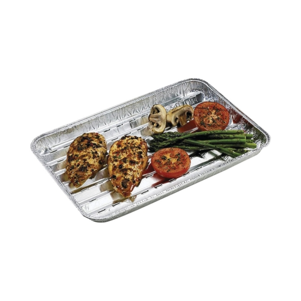 Picture of GrillPro 50426 Grilling Tray, Heavy-Duty, Aluminum