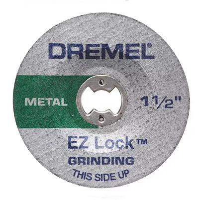 Picture of DREMEL EZ Lock EZ541GR Grinding Wheel, 1-1/2 in Dia, 0.045 in Thick, Aluminum Oxide Abrasive