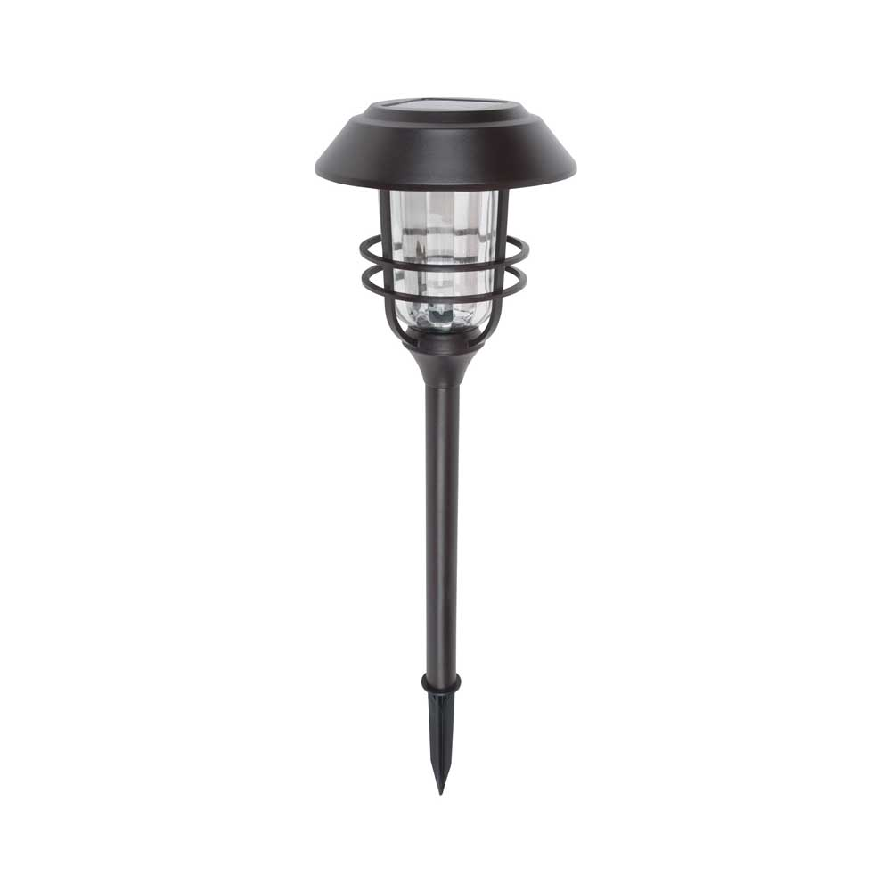 Picture of Boston Harbor 24186 Large Stake Light, Ni-MH Battery, AA Battery, 1-Lamp, LED Lamp, Bronze, Battery Included: Yes