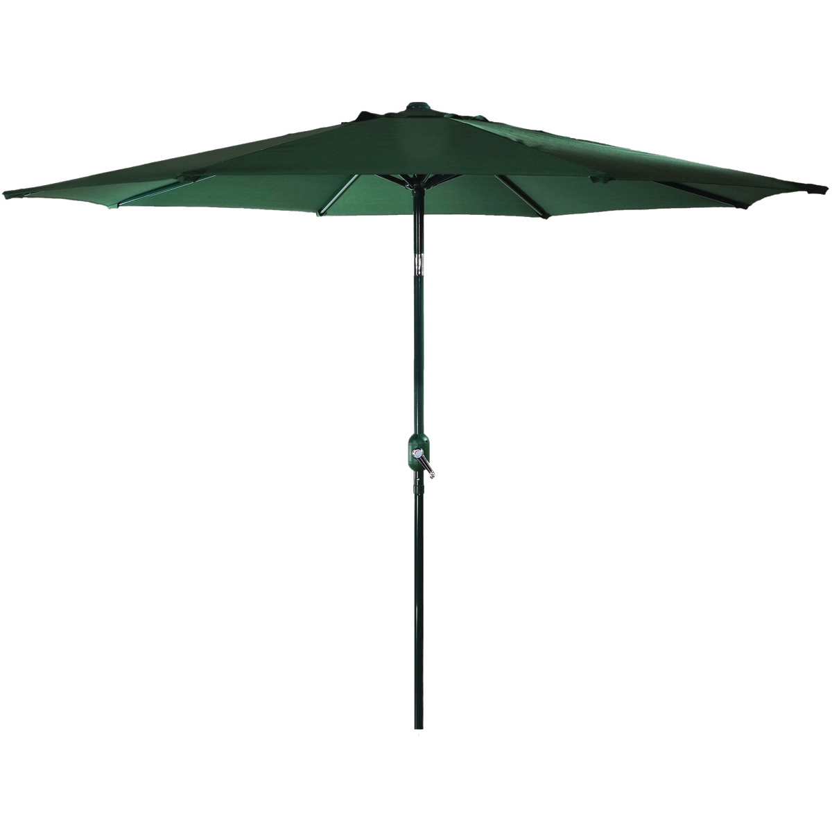 Picture of Seasonal Trends 60035 Crank Umbrella, 92.9 in H, 107.9 in W Canopy, 107.9 in L Canopy, Round Canopy, Steel Frame