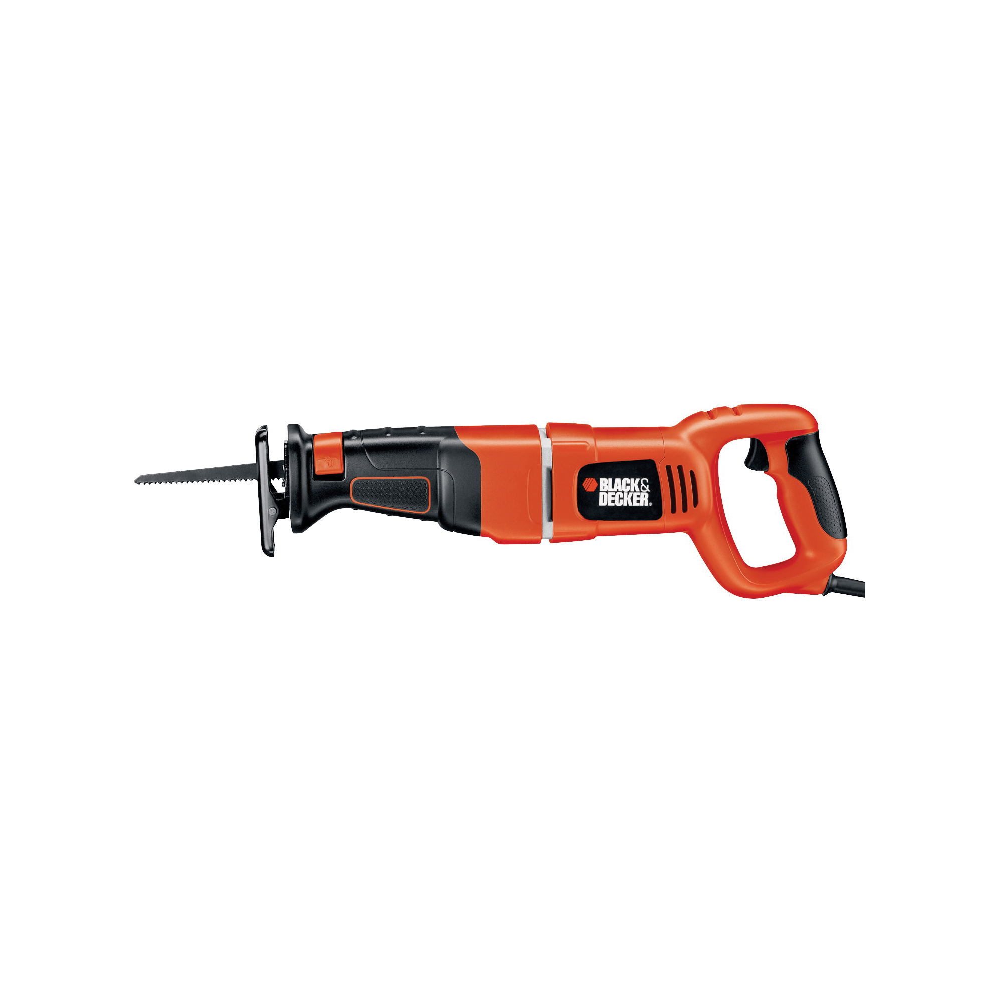 Picture of Black+Decker RS500K Reciprocating Saw, 120 V, 8.5 A, 1-1/8 in L Stroke, 2400 spm SPM