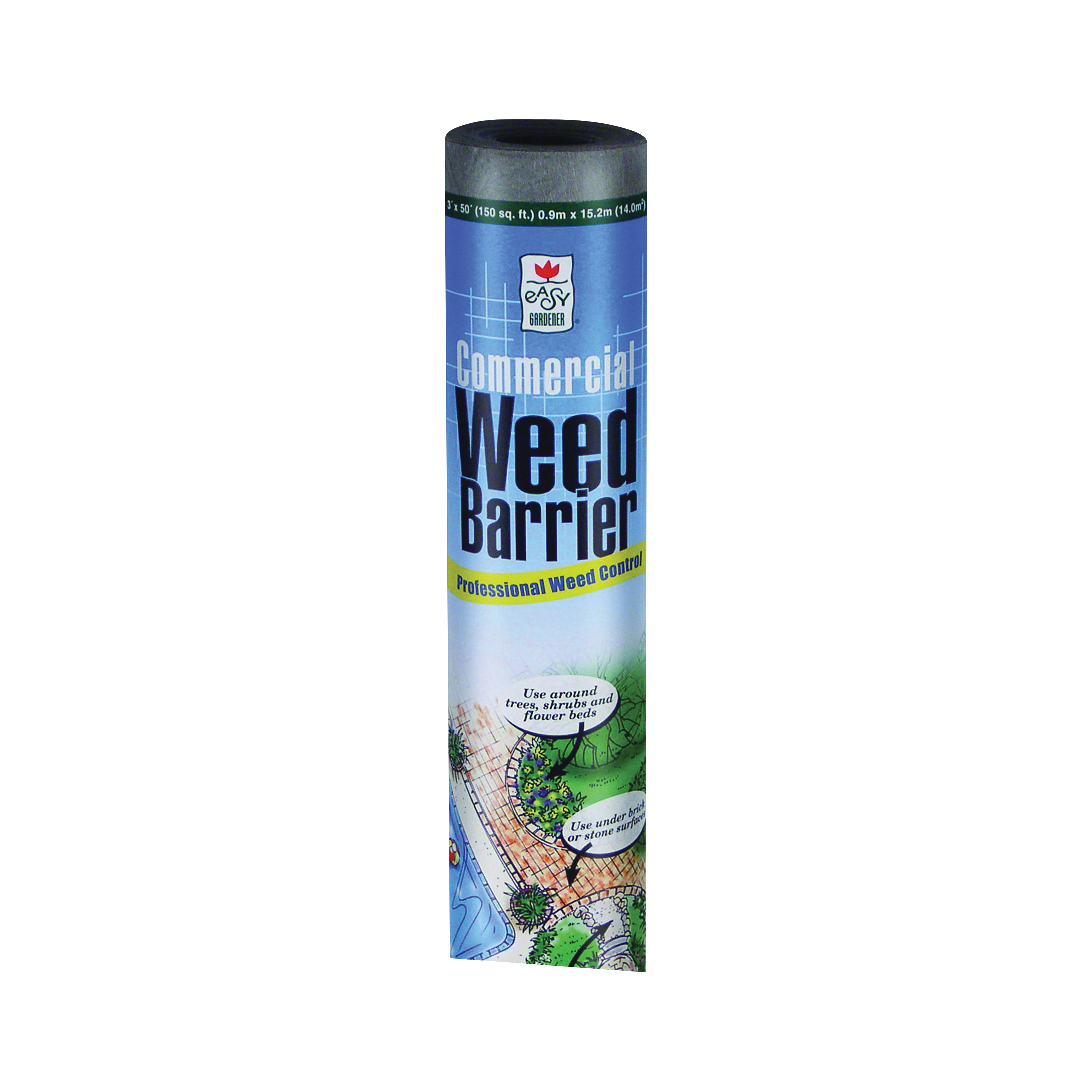 Picture of Easy Gardener 2508 Commercial Weed Barrier, Gray