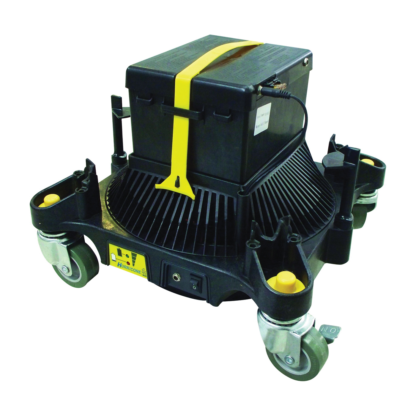 Picture of BEACH SALES & ENGINEERING HUR6000 Floor Dry Dolly, 12 V, 300 cfm Air, Black