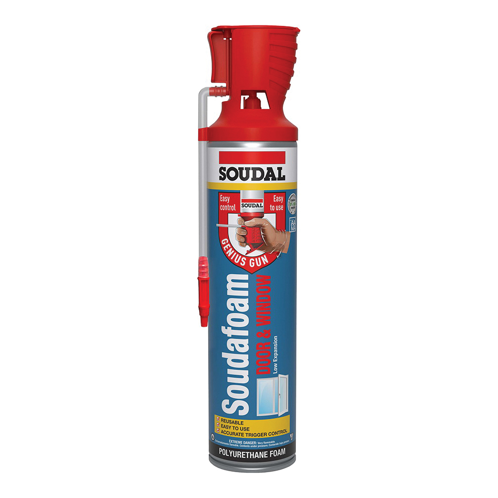 Picture of Soudal 461800 Foam Sealant, Champagne, 12 oz Package