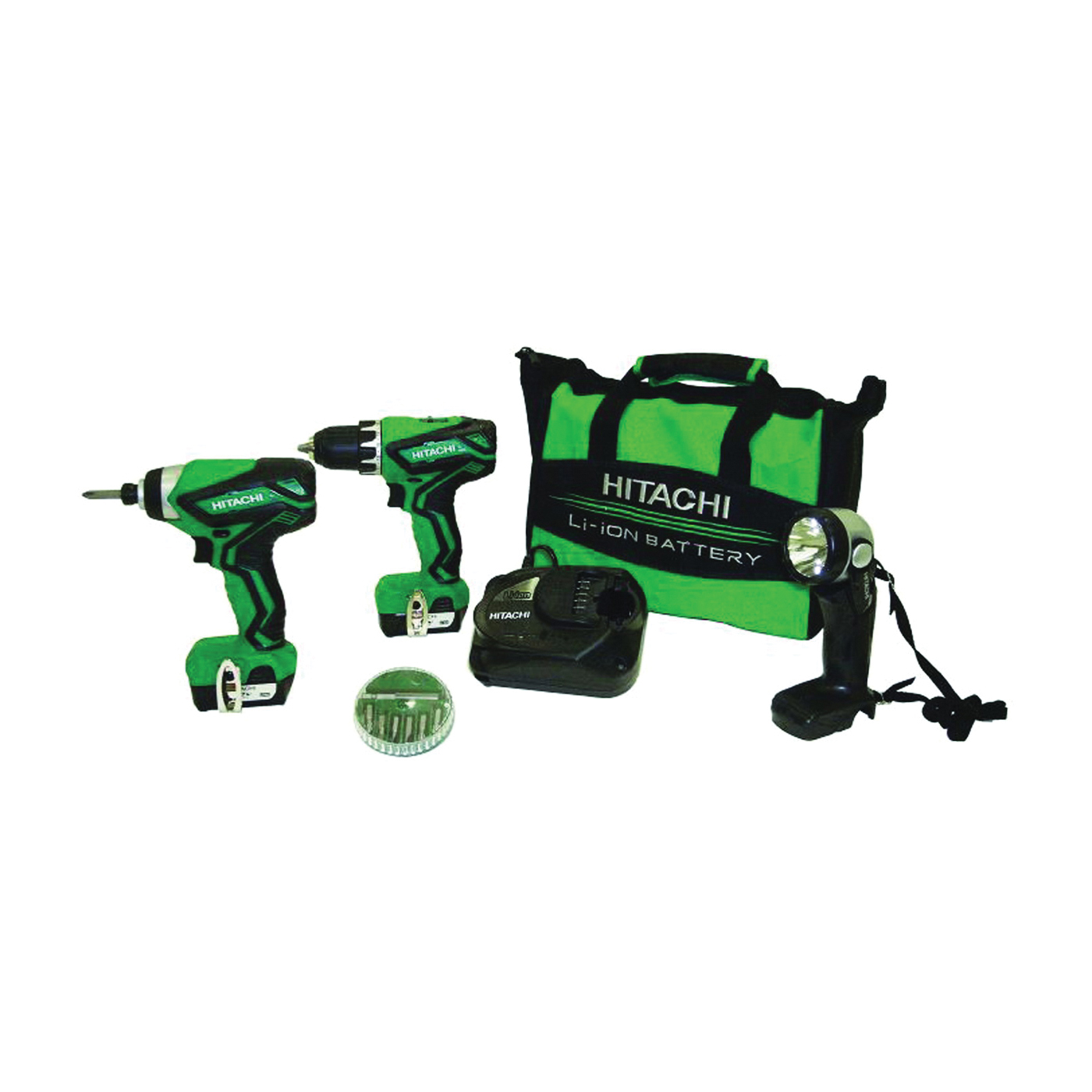 Picture of Metabo HPT KC10DFL2 3-Tool Combo Kit, Battery Included: Yes