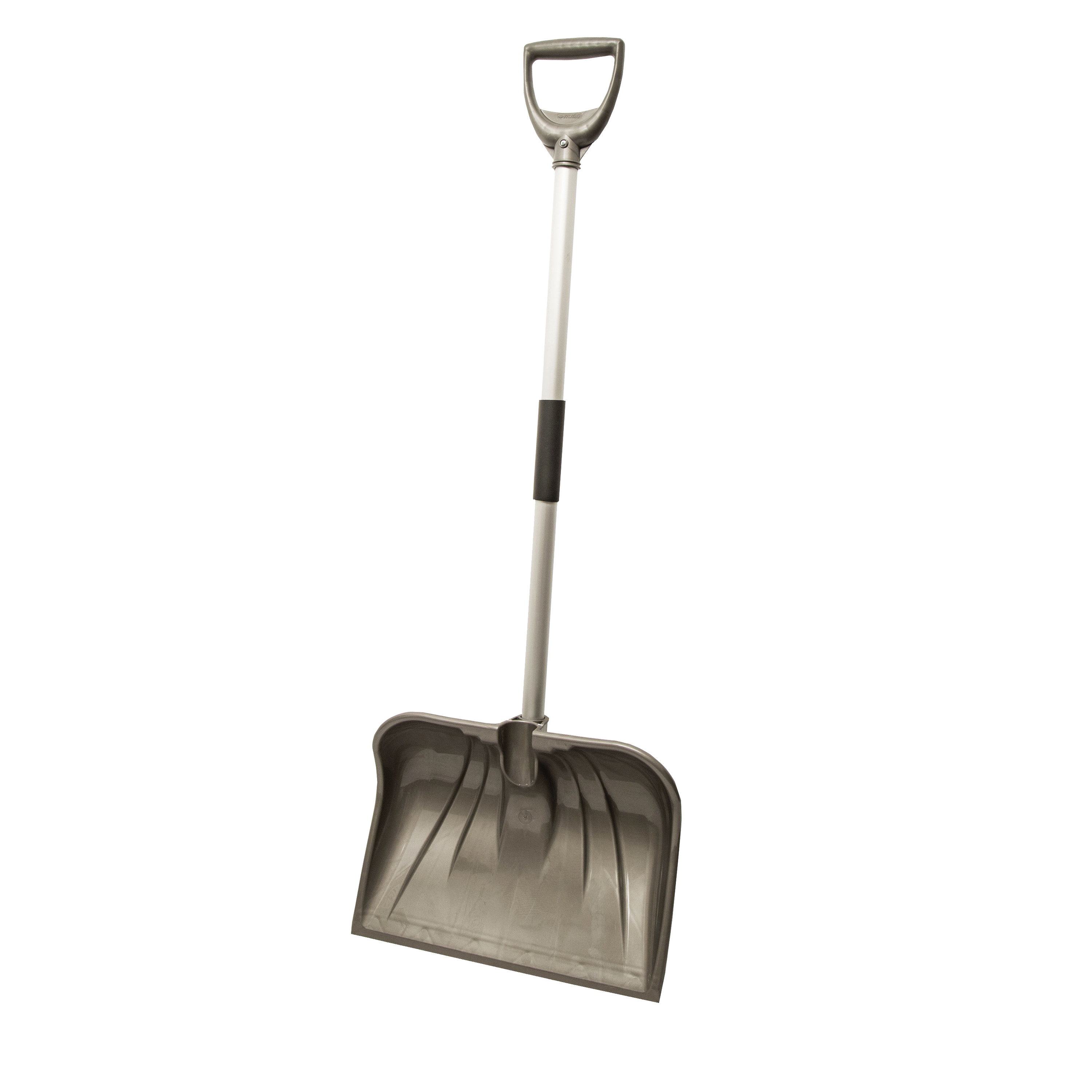 Picture of RUGG Lite-Wate 26PL-S Snow Shovel, 18 in W Blade, Combo Blade, Polyethylene Blade, Aluminum Handle, Navy
