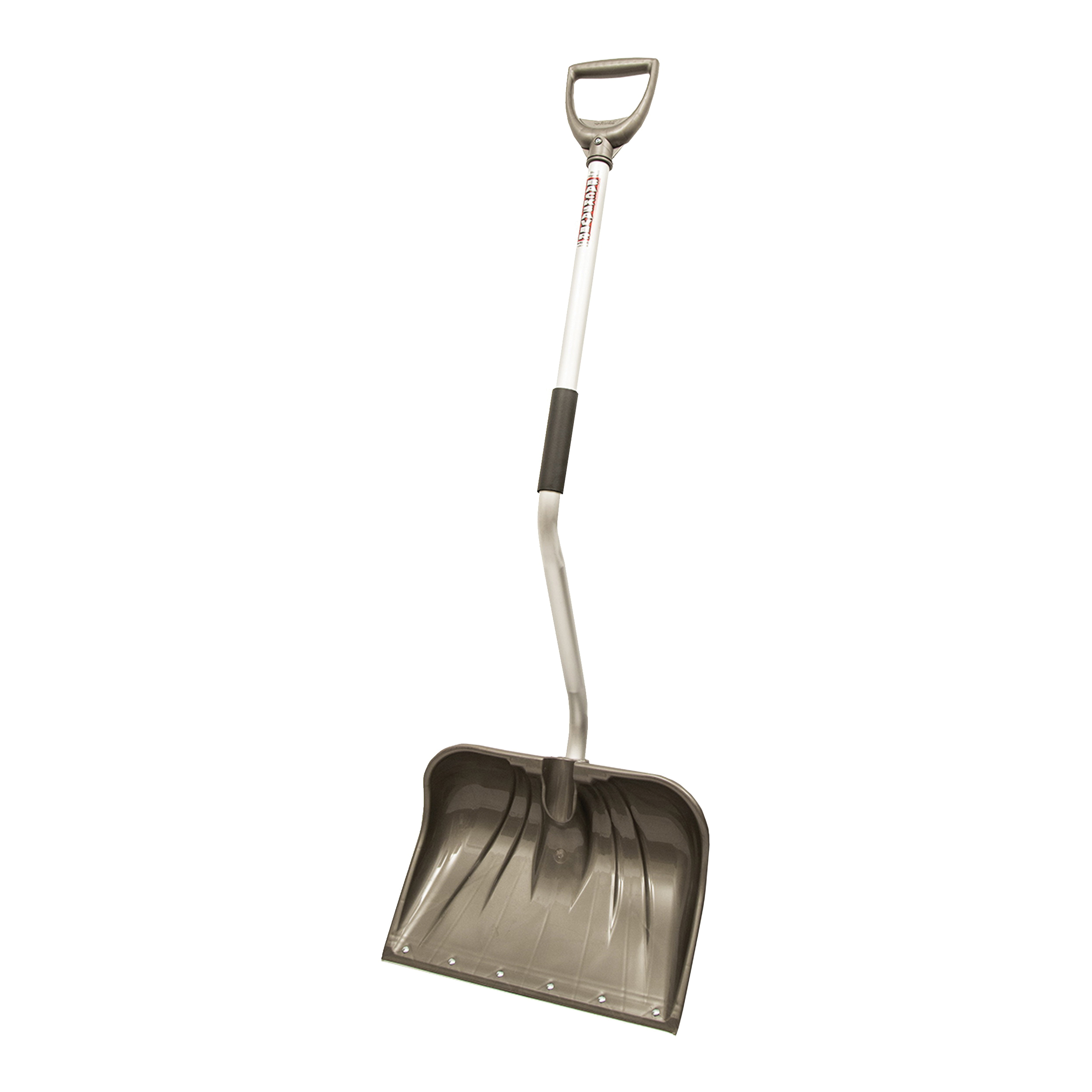Picture of RUGG Lite-Wate 26PBSLW-S Snow Shovel and Pusher, 18 in W Blade, Polyethylene Blade, Aluminum Handle, D-Shaped Handle