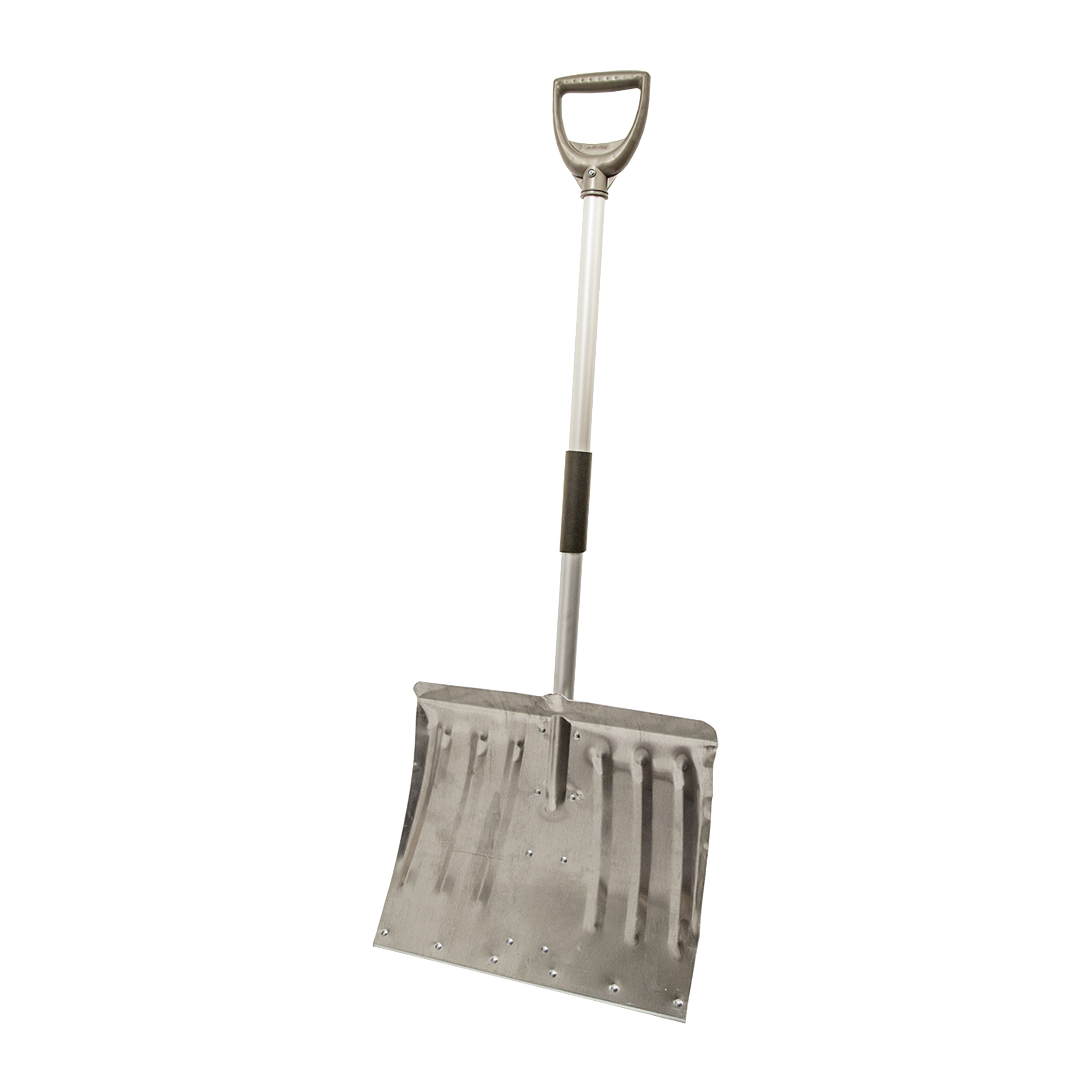 Picture of RUGG Lite-Wate 22L-S Snow Shovel, 18 in W Blade, Combo Blade, Aluminum Blade, Aluminum Handle, Silver