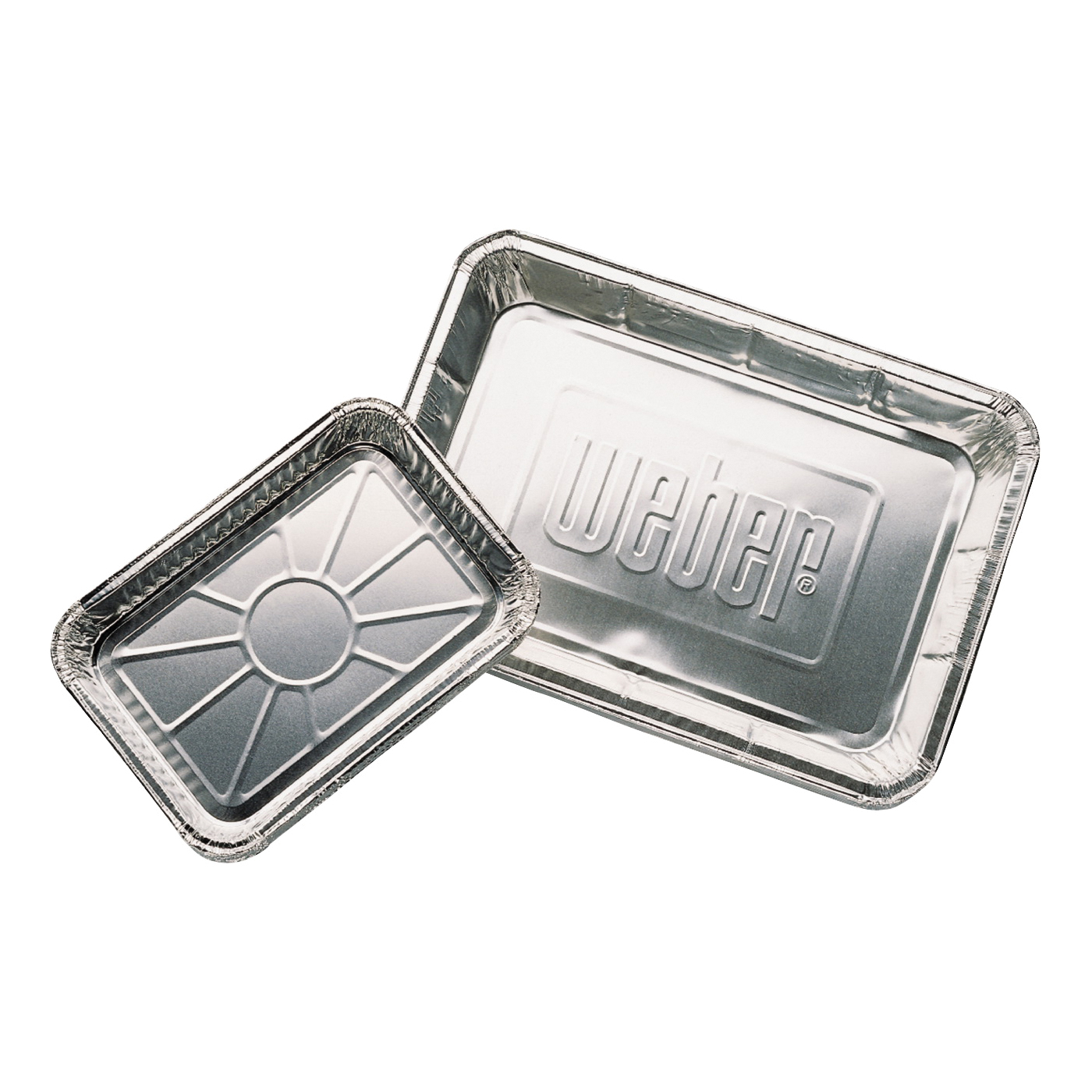 Picture of Weber 6416 Foil Pan, 13.1 in L, 9.1 in W, Aluminum