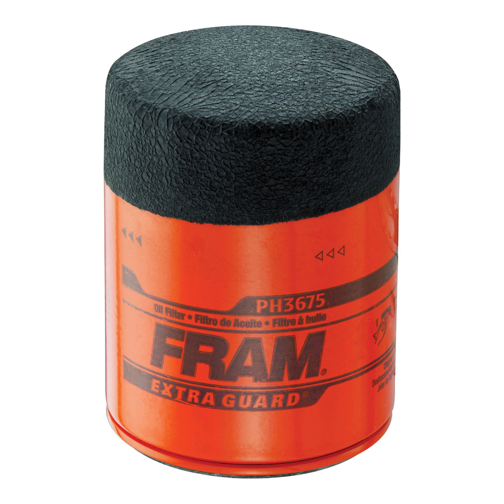 Picture of FRAM PH3675 Full-Flow Lube Oil Filter, 13/16-16 Connection, Threaded, Cellulose, Synthetic Glass Filter Media