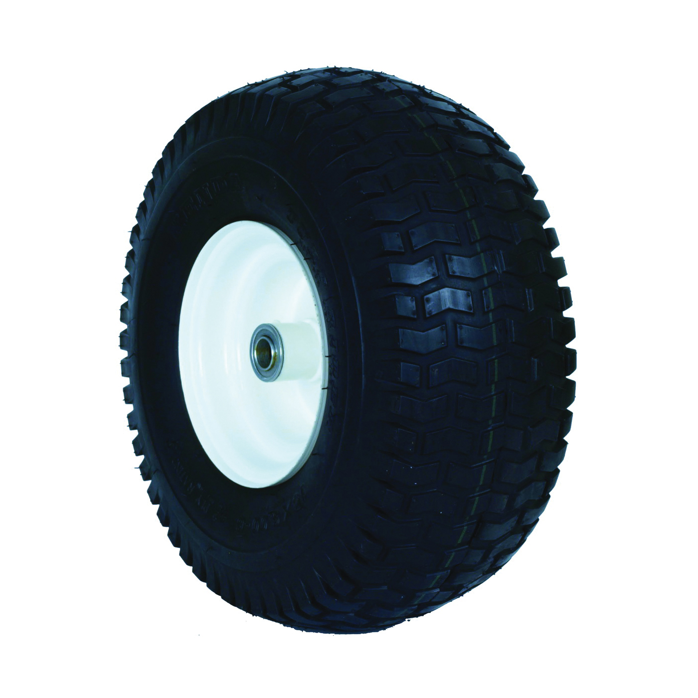 Picture of MARTIN WHEEL 606DC-TR341I Garden Tractor Wheel, Pneumatic, Smooth, White