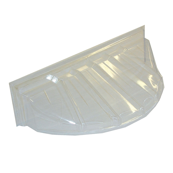 Picture of MACCOURT W4419 Window Well Cover, 19 in L, 44 in W, Plastic