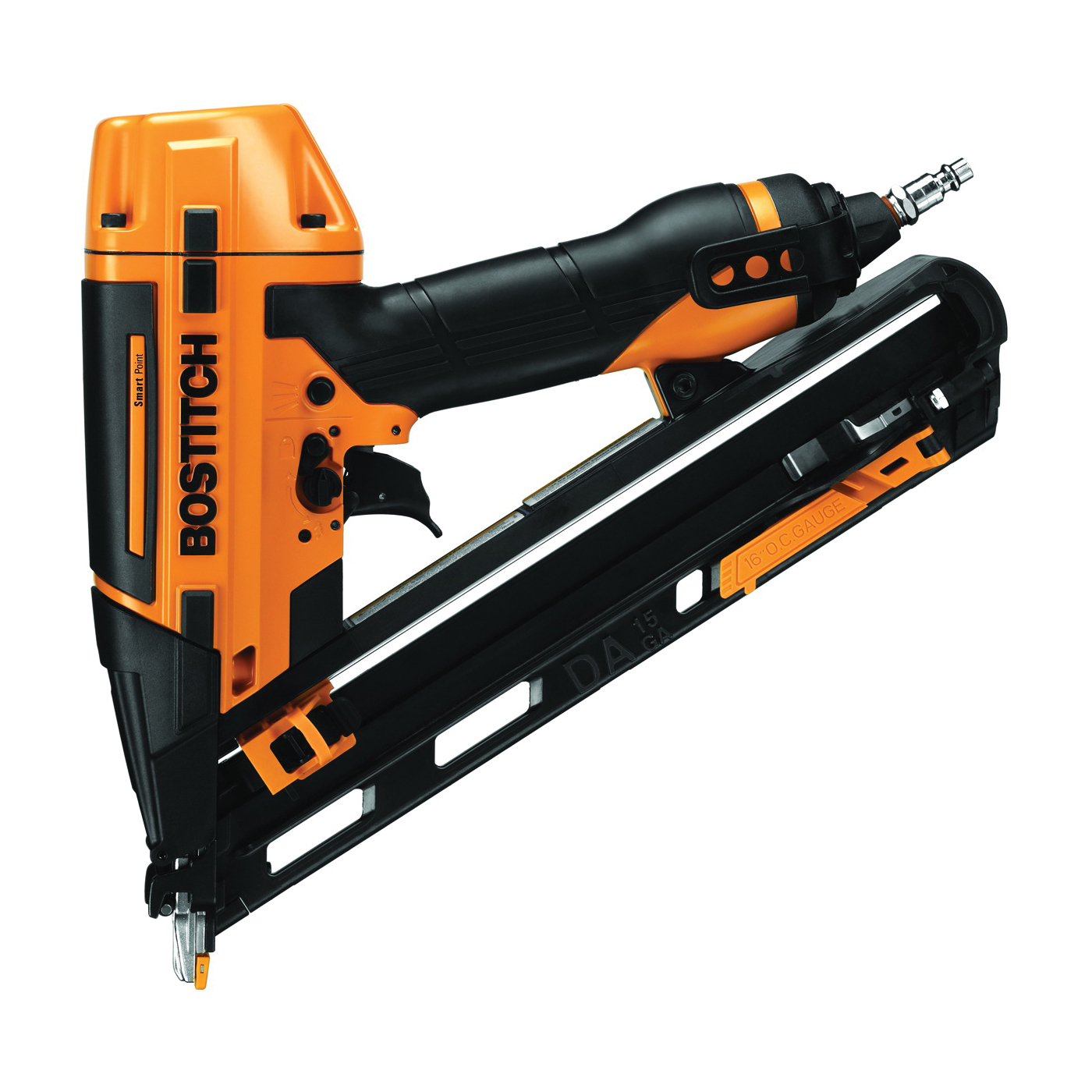 Picture of Bostitch BTFP72155 Finish Nailer Kit, 100 Magazine, Glue Collation, 2-1/2 in Fastener