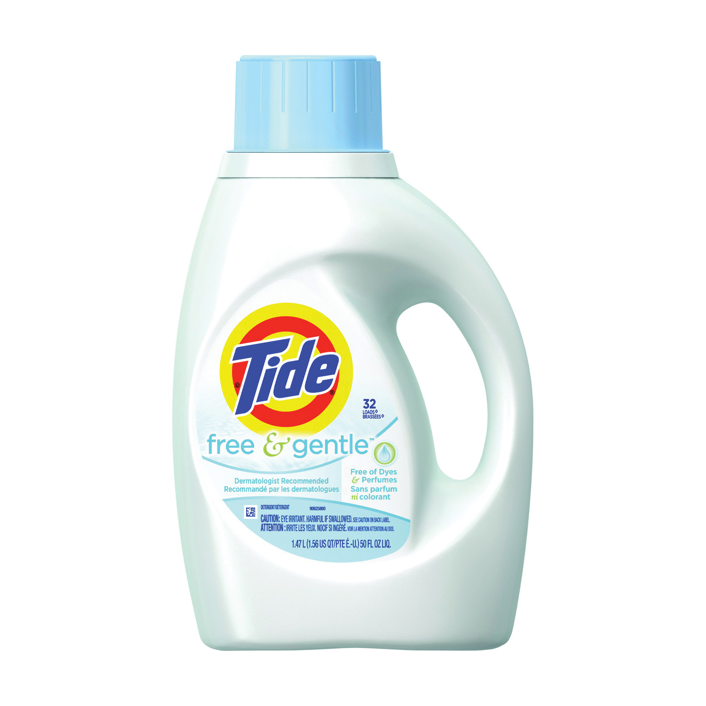 Picture of Tide 5885637 Laundry Detergent, 50 oz, Bottle, Liquid, Slight