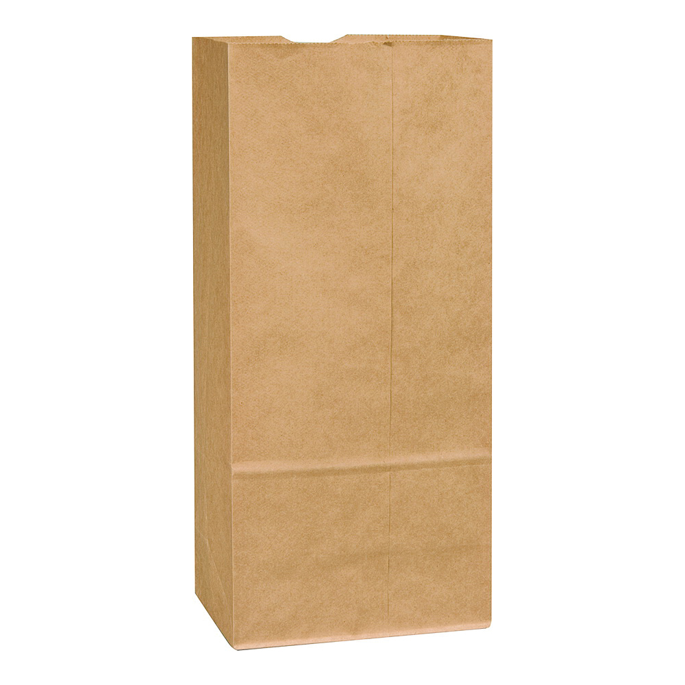 Picture of Duro Bag 80078 BBL Sack, 66 lb Capacity, Kraft Paper, Brown, 500, Pack