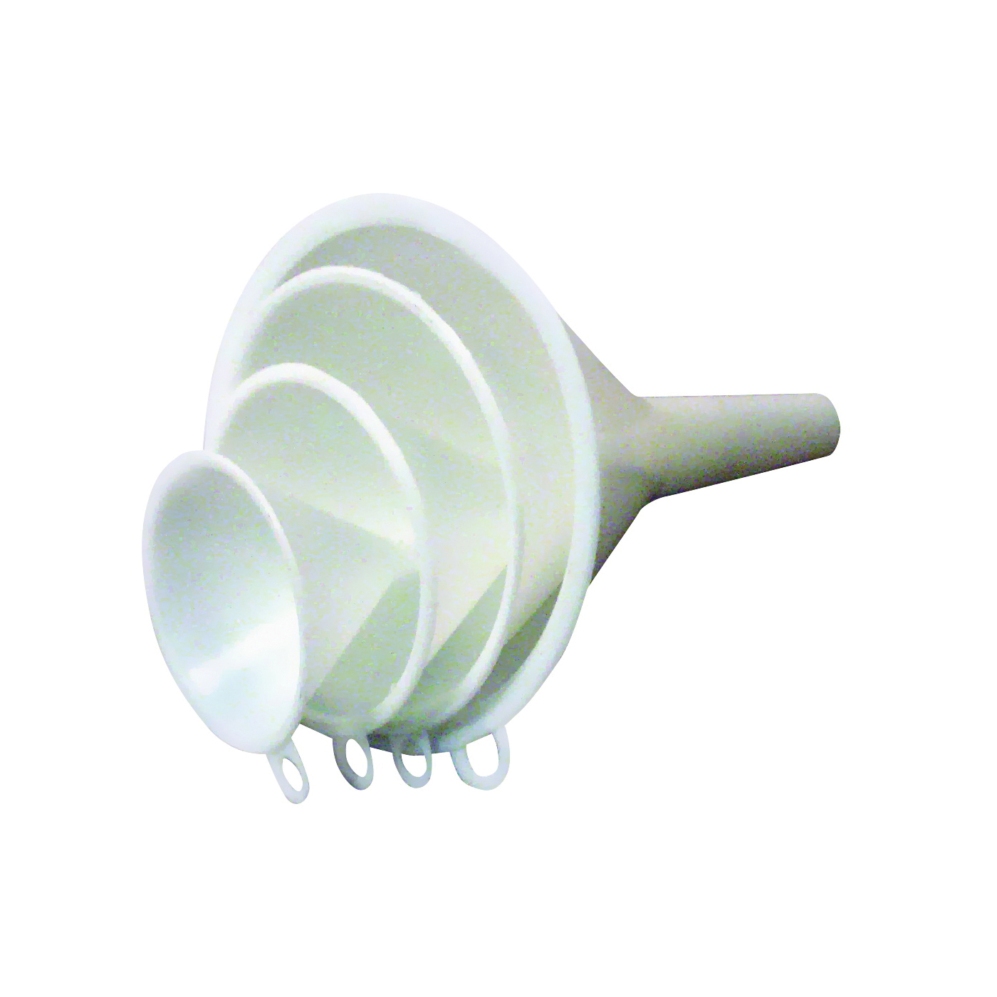Picture of CHEF CRAFT 20493 Funnel Set, 2 to 5 in Dia, Plastic