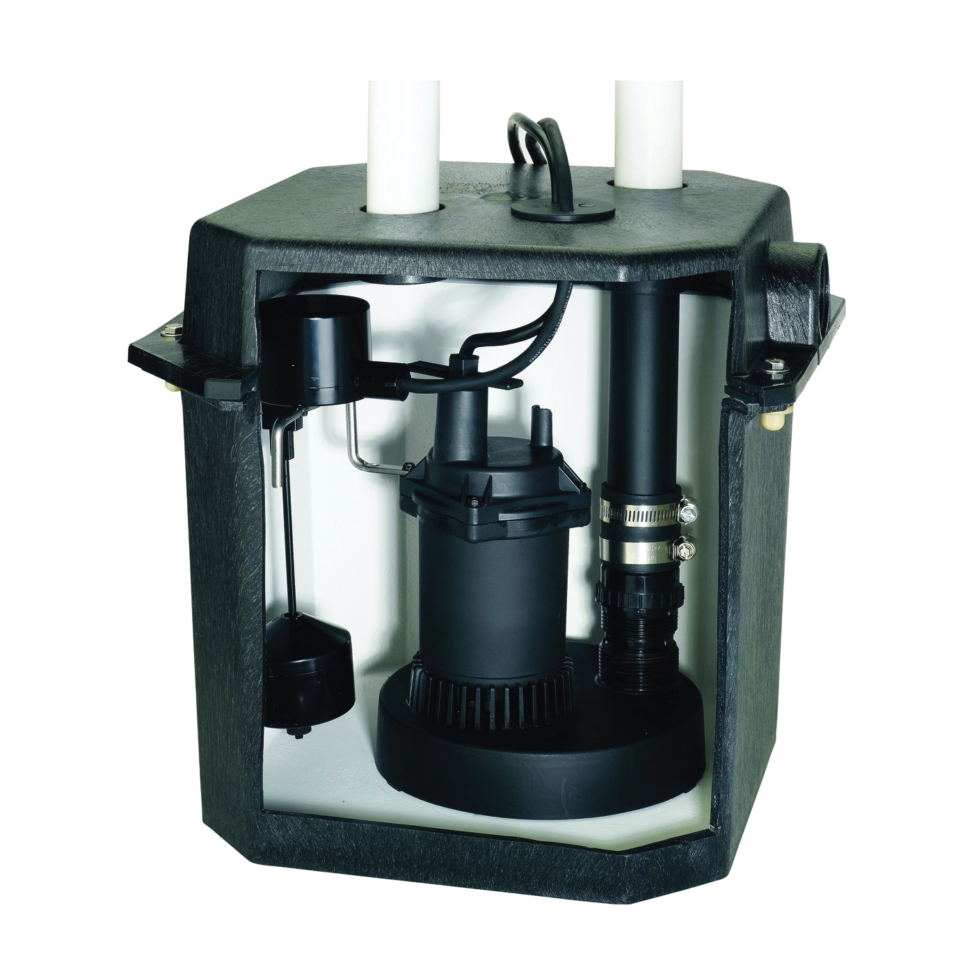 Picture of Sta-Rite Flotec FPZS33LTS/FPOS180 Sink Pump System, 8.5 A, 115 V, 0.33 hp, 1-1/2 in Outlet, 22 ft Max Head