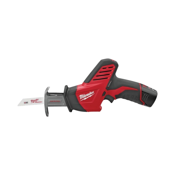 Picture of Milwaukee 2420-21 Reciprocating Saw Kit, Kit, 12 V Battery, 1.4 Ah, 1/2 in L Stroke, 0 to 3000 SPM