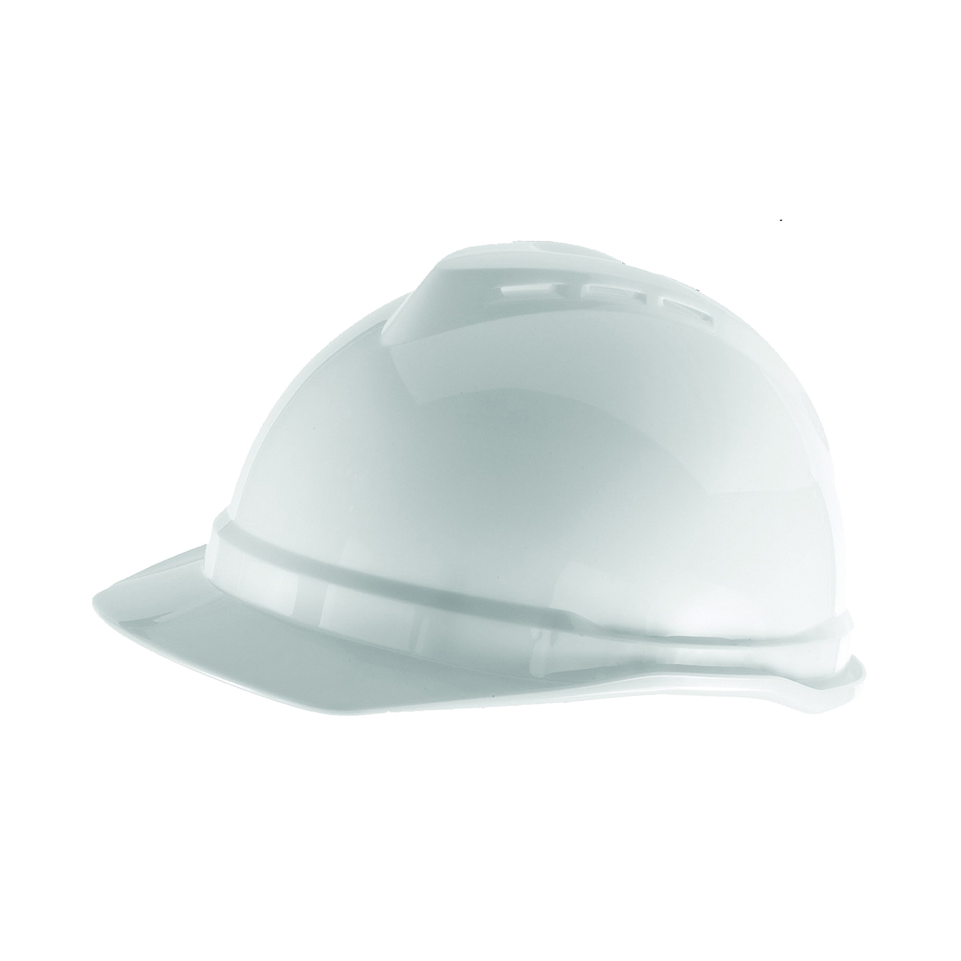 Picture of MSA 10034020 Hard Hat, 4-Point Fas-Trac III Suspension, Polyethylene Shell, Yellow, Class: C
