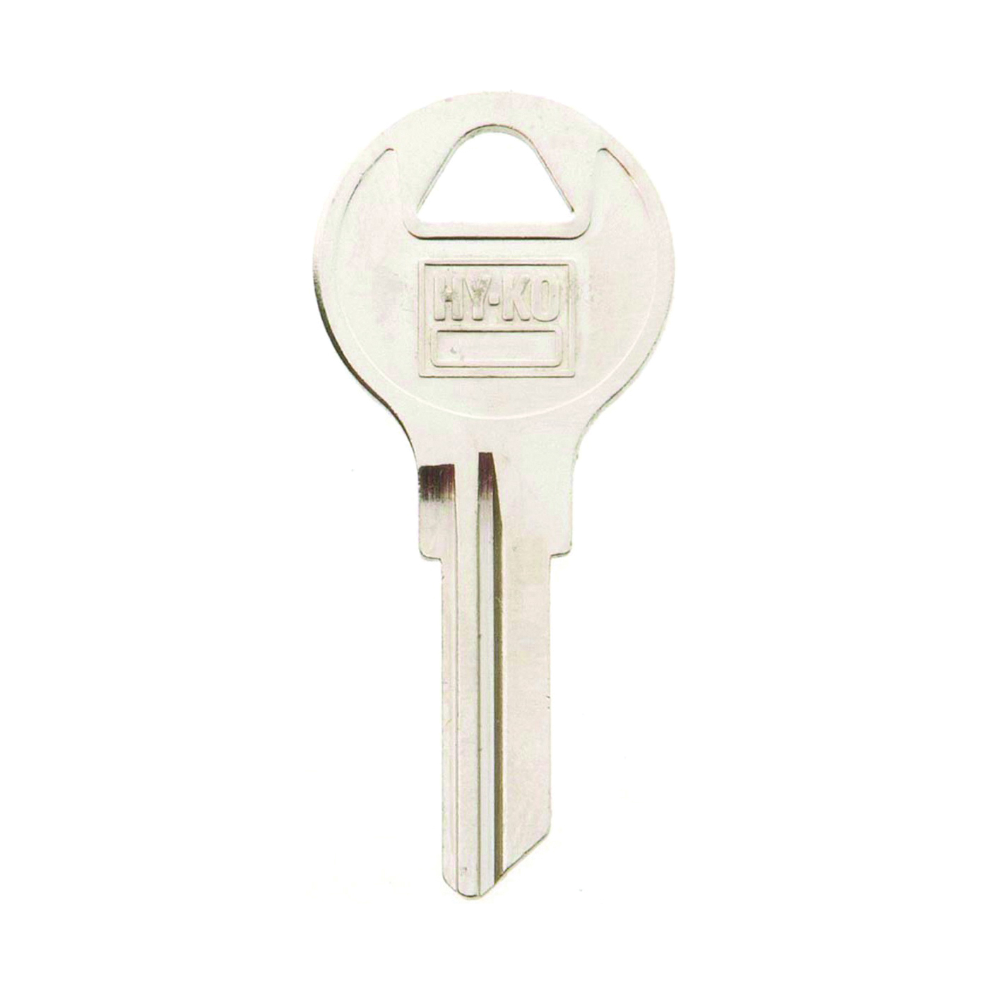 Picture of HY-KO 11010AP3 Key Blank, Brass, Nickel, For: Chicago Cabinet, House Locks and Padlocks