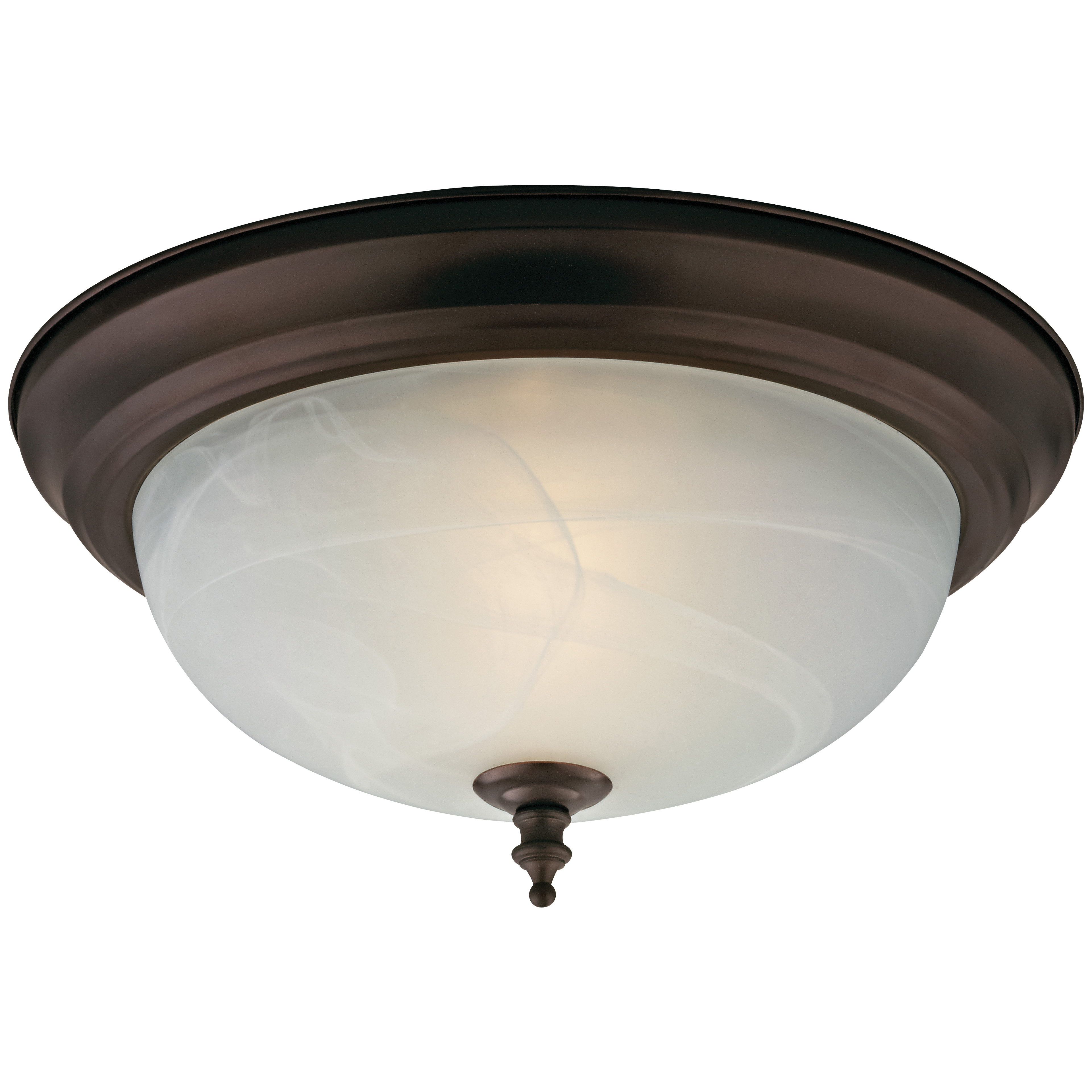 Picture of Boston Harbor F51WH02-1005-ORB Ceiling Light Fixture, 2-Lamp, CFL Lamp, Oil-Rubbed Bronze Fixture