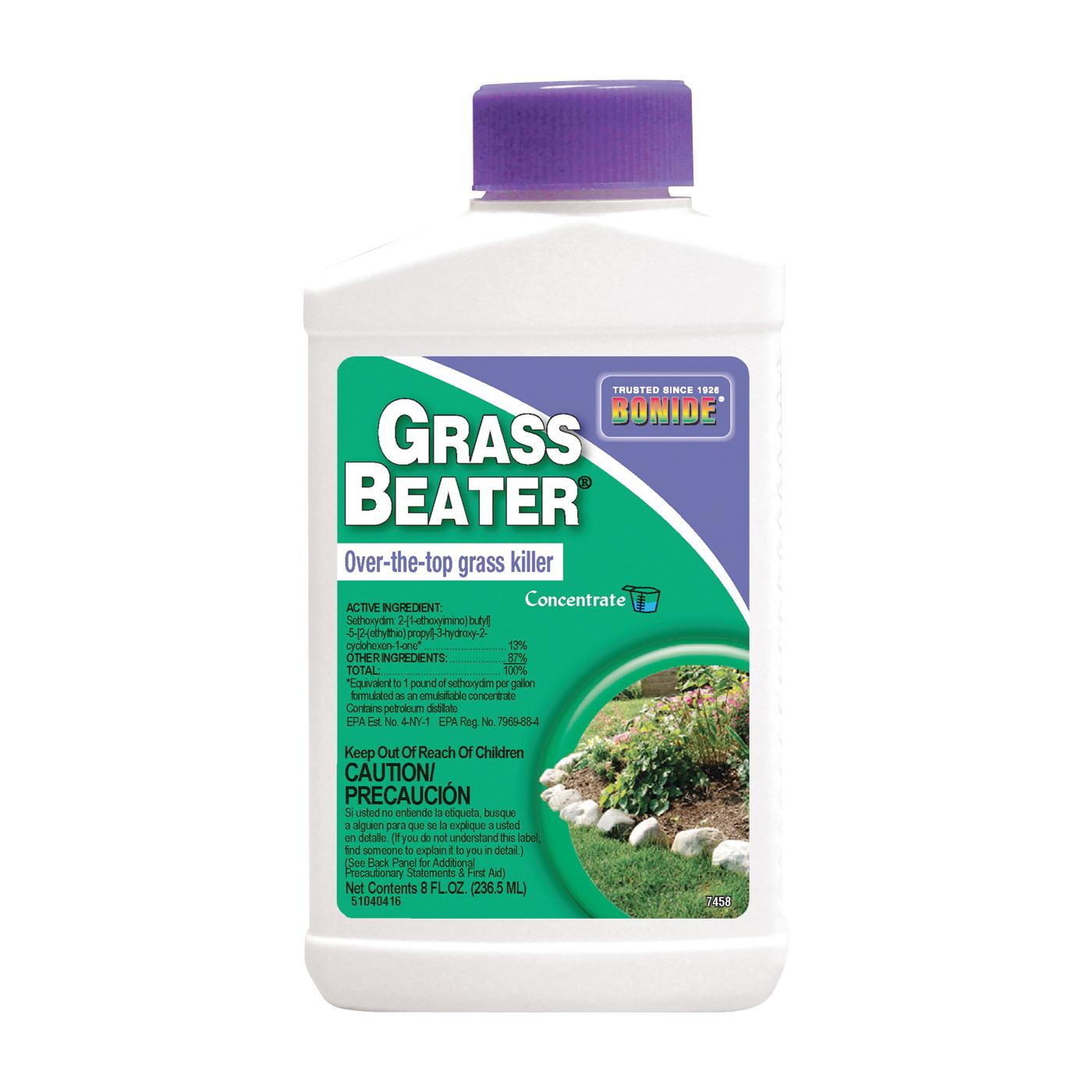 Picture of Bonide 7458 Grass Killer, Liquid, Amber, 8 oz Package, Bottle
