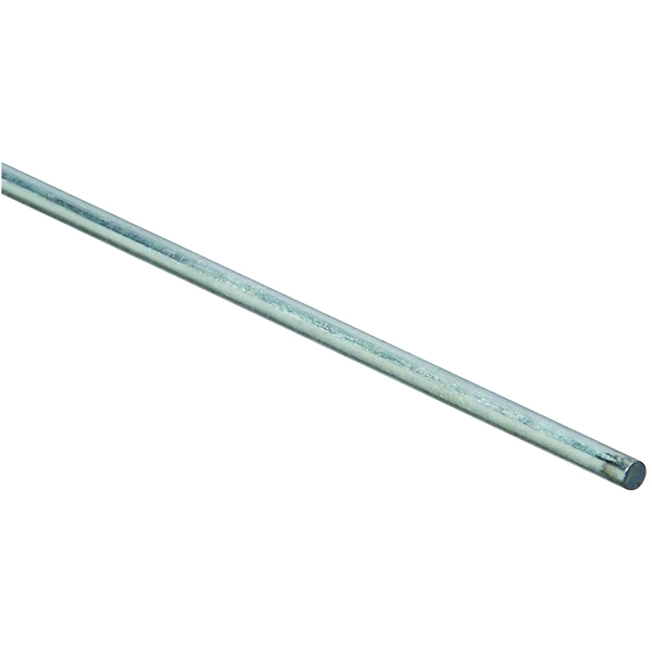 Picture of Stanley Hardware 4005BC Series 179754 Smooth Rod, 3/16 in Dia, 36 in L, Steel, Zinc