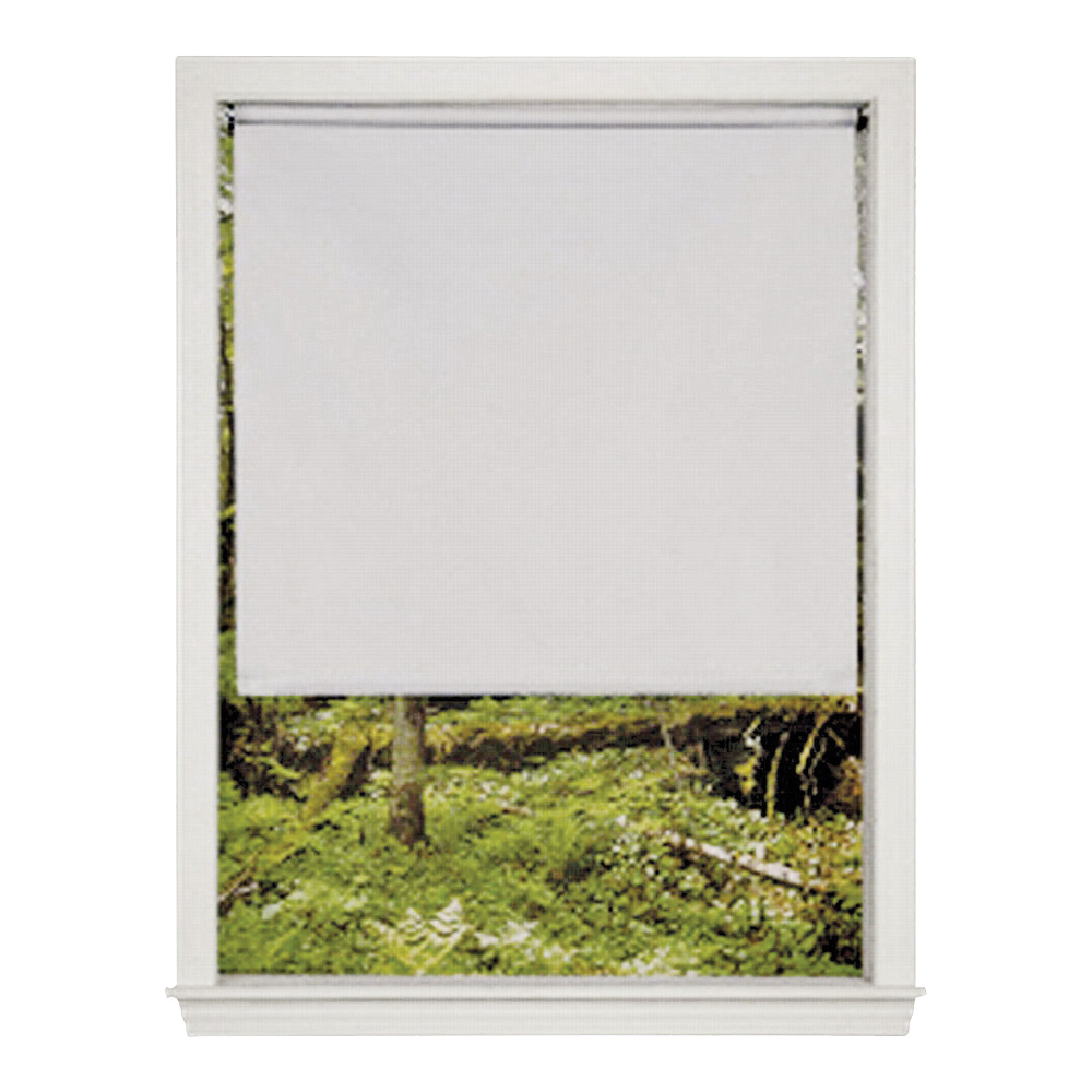 Picture of LEVOLOR SRSMWD5506601D Window Shade, 66 in L, 55 in W, 1-Ply, Vinyl, White