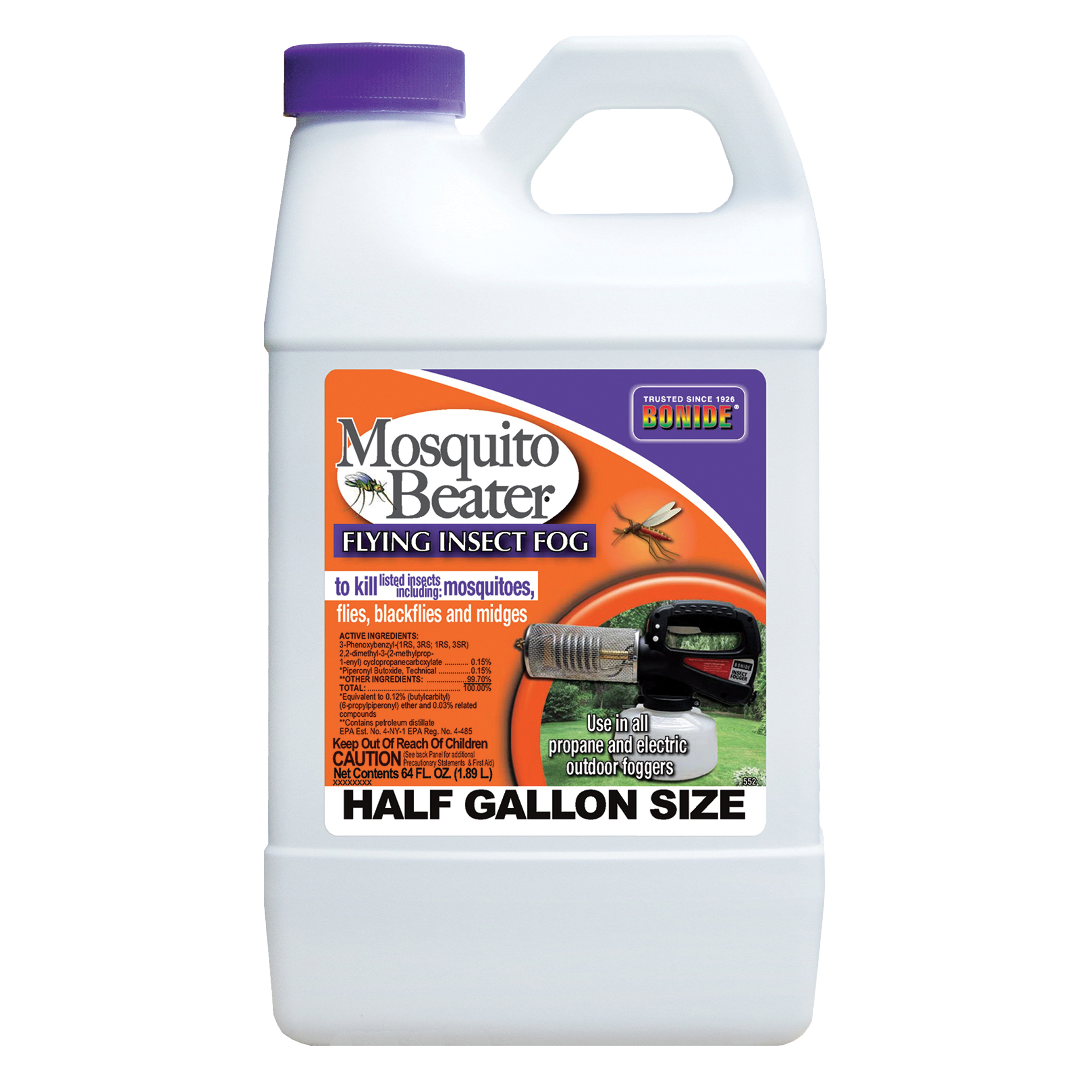 Picture of Bonide 552 Flying Insect Fog, 1/2 gal/acre Coverage Area, Clear