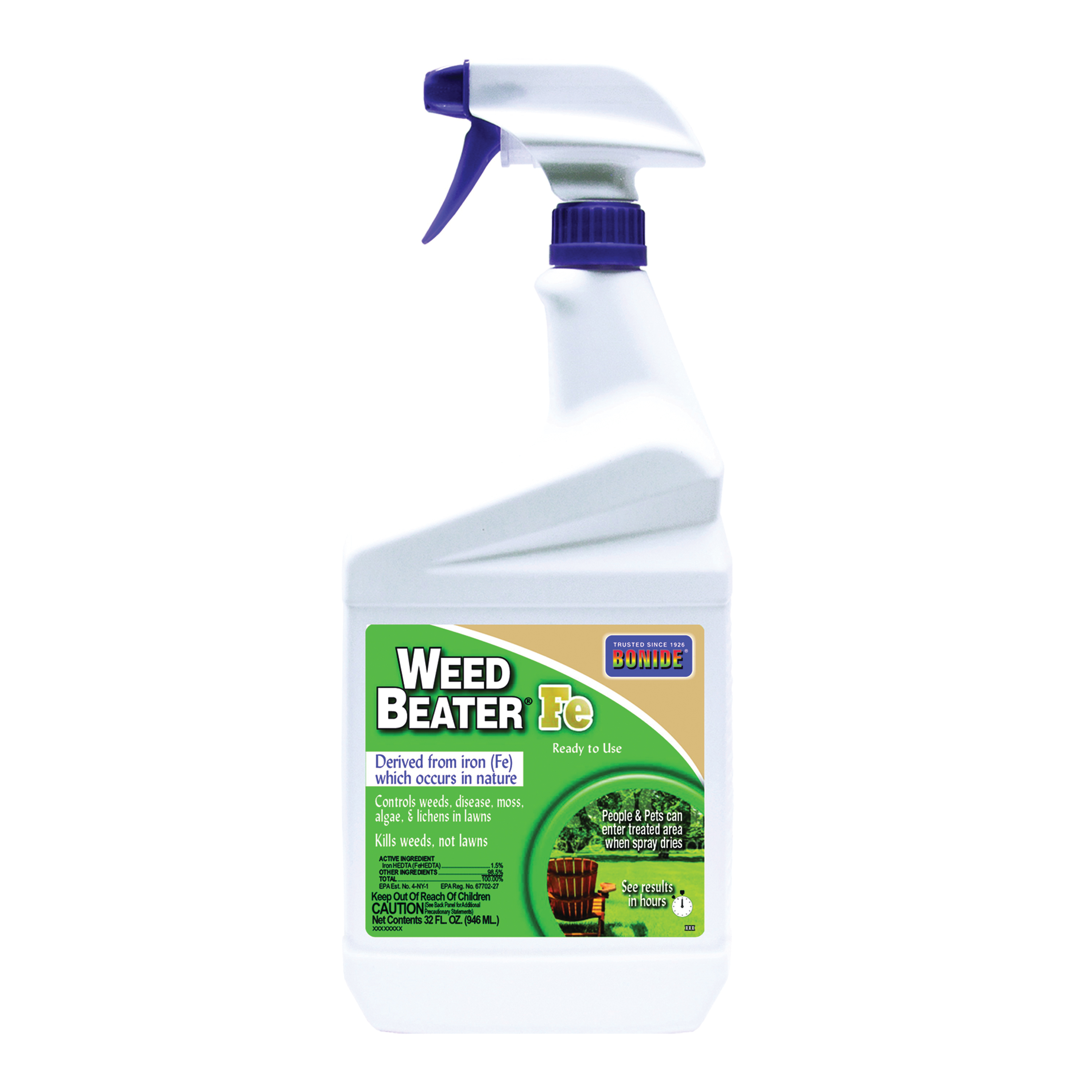 Picture of Bonide 321 Weed Killer, Liquid, Spray Application, 1 qt Package