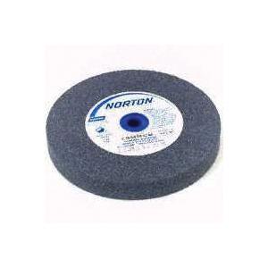 Picture of NORTON 88210 Grinding Wheel, 5 in Dia, 1 in Arbor, Medium, Aluminum Oxide Abrasive