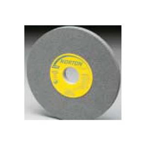 Picture of NORTON 88255 Grinding Wheel, 6 in Dia, 1 in Arbor, Medium, Aluminum Oxide Abrasive