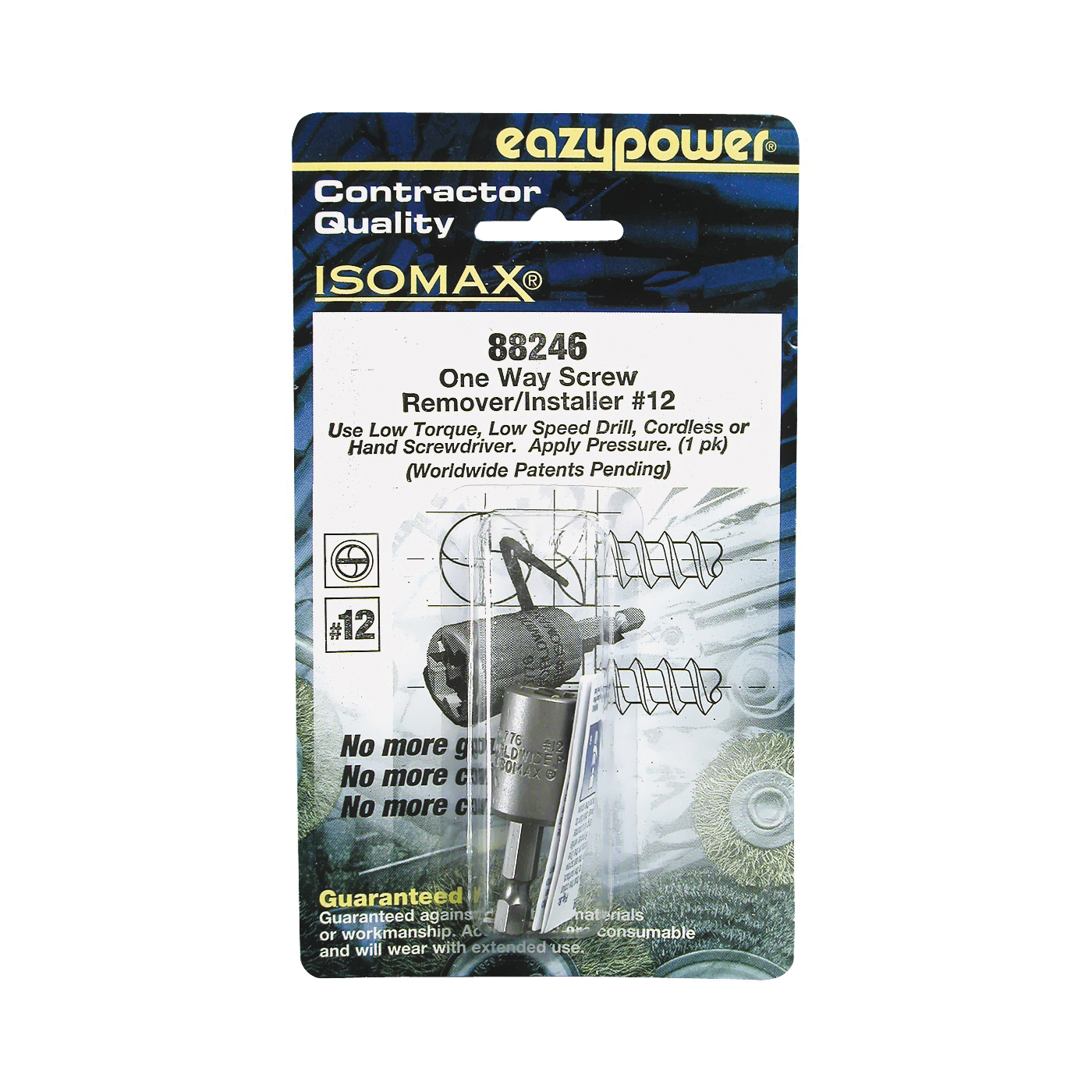 Picture of EAZYPOWER 88246 One Way Screw Remover, #12 Bolt/Screw, HSS