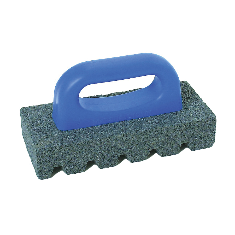 Picture of Marshalltown 840 Rubbing Brick, 1 in Thick Blade, 20 Grit, Silicone Carbide Abrasive