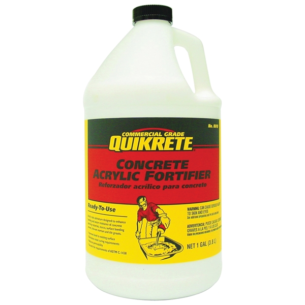 Picture of Quikrete 861001 Concrete Acrylic Fortifier, Liquid, 1 gal Package, Bottle