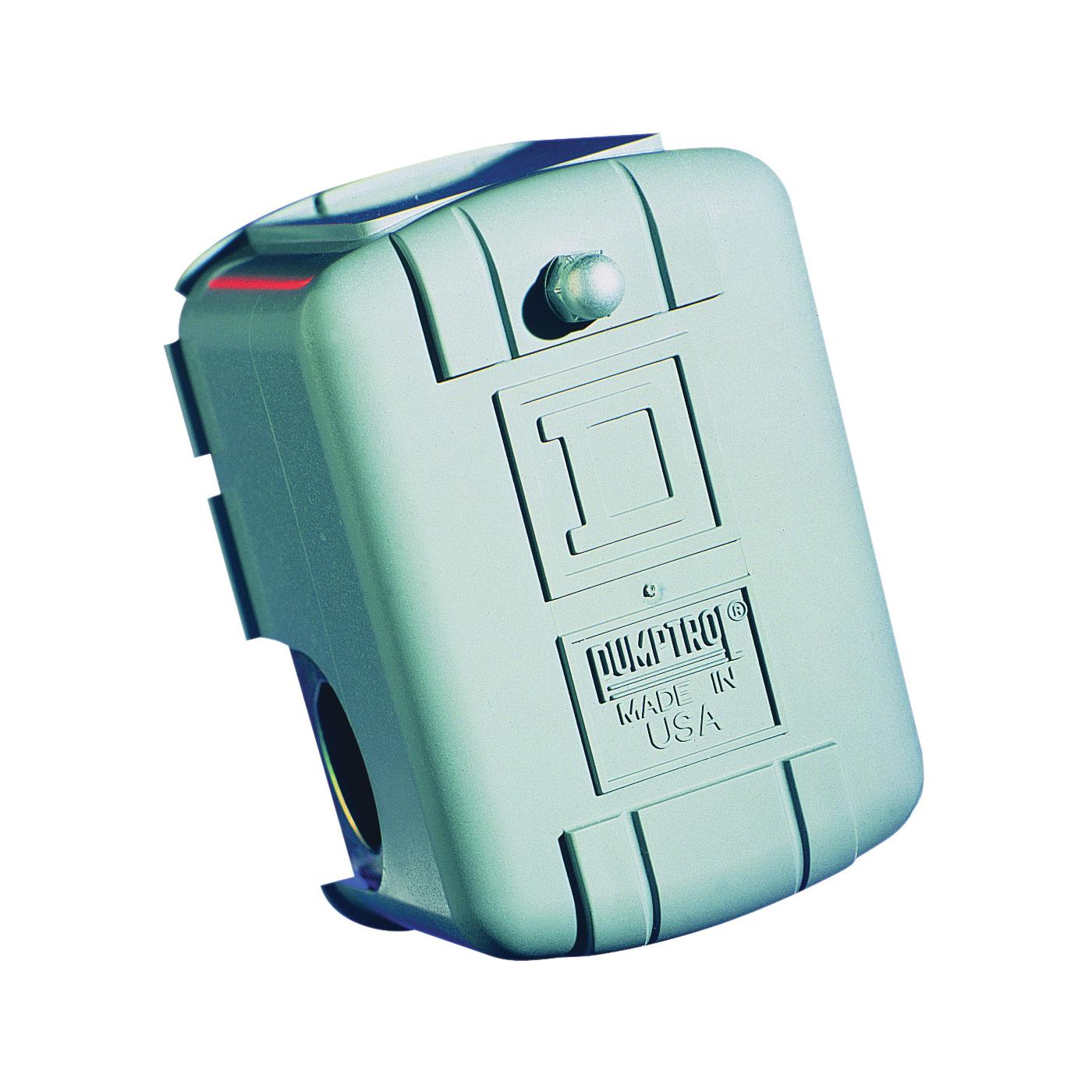 Picture of Square D Pumptrol FSG2J21CP Pressure Switch, 1-Phase, 115/230 V, 2-Pole, 220 psi Working, NEMA 1 Enclosure