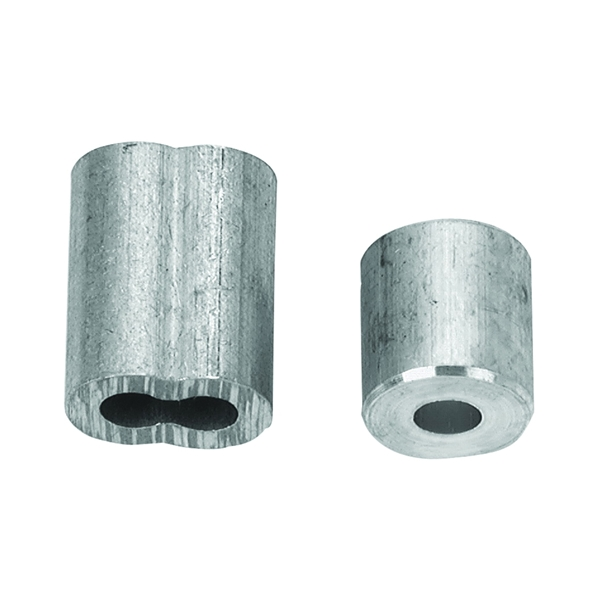 Picture of Campbell B7675454 Cable Ferrule and Stop Set, 1/4 in Dia Cable, Aluminum