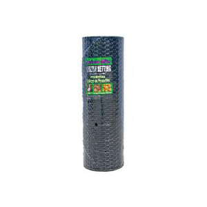 Picture of Jackson Wire 12 01 45 29 Poultry Hex Netting, 150 ft L, 36 in W, 20 Gauge, Hexagonal Mesh, 1 in Mesh, Galvanized