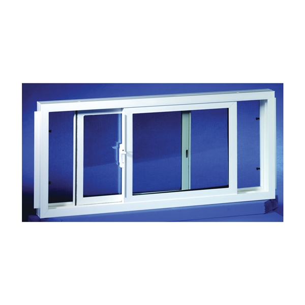 Picture of Duo-Corp 3214SLID Basement Window, Insulated Glass Glass/Screen, Vinyl Frame